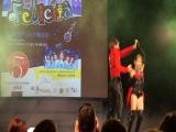 Алина  и Артем на конкурсе у Аль Бано. Гала концерт победителей на главной площади в г. БАРИ