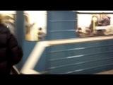 В Новосиб на хоккей. Услышал шум в тонеле, не вздумай сунуть голову.