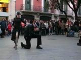 Уличное танго в Буэнос-Айресе